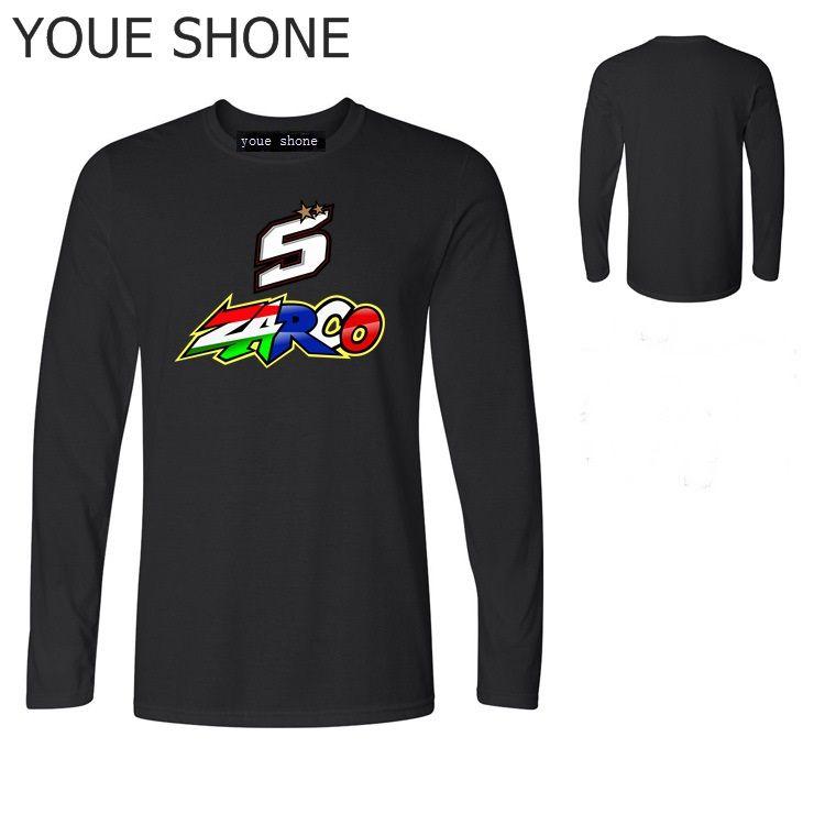 T-shirt da uomo Fitness Basic homme Taglie forti T-shirt in cotone KTM Moto T-shirt da uomo di marca Abbigliamento JOHANN ZARCO 5 manica lunga