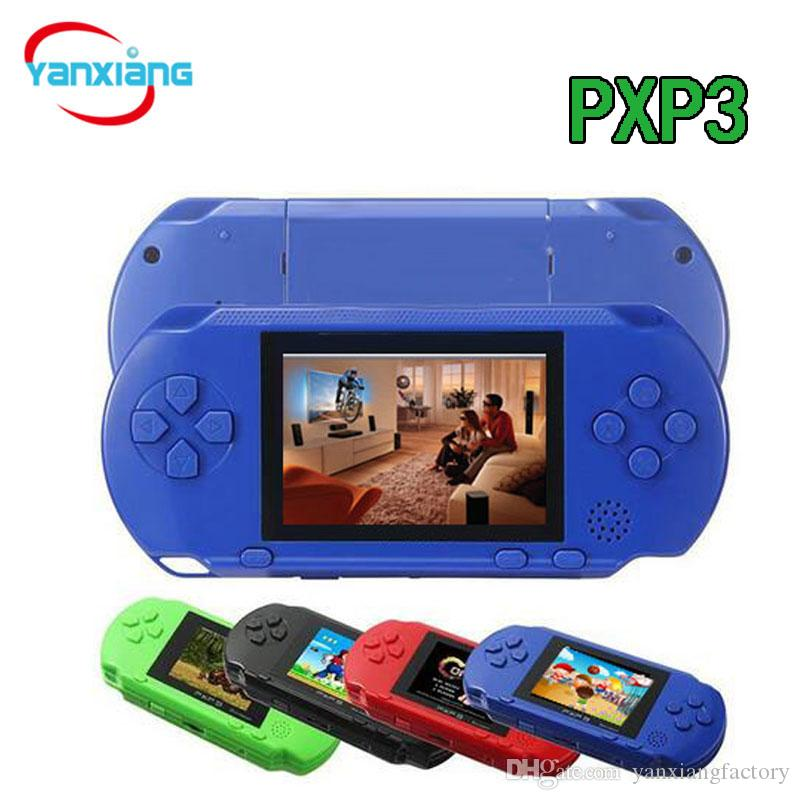 10 PCS TV Video Game Console Handheld PXP3 16Bit Game Jogadores Gameboy PXP Mini Consoles de Jogos para GBA Jogos Atacado DHL YX-PXP-1