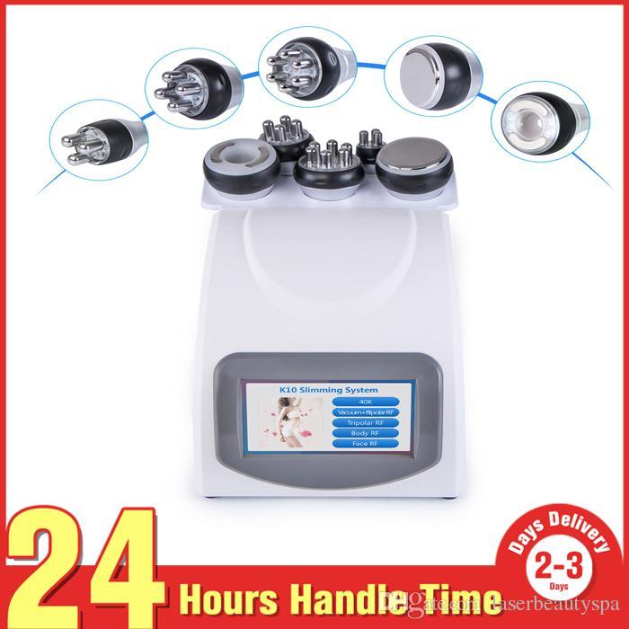 5 в 1 вакуумной ультразвуковой кавитационной кавитации радиочастотный корпус для похудения красота машина спа