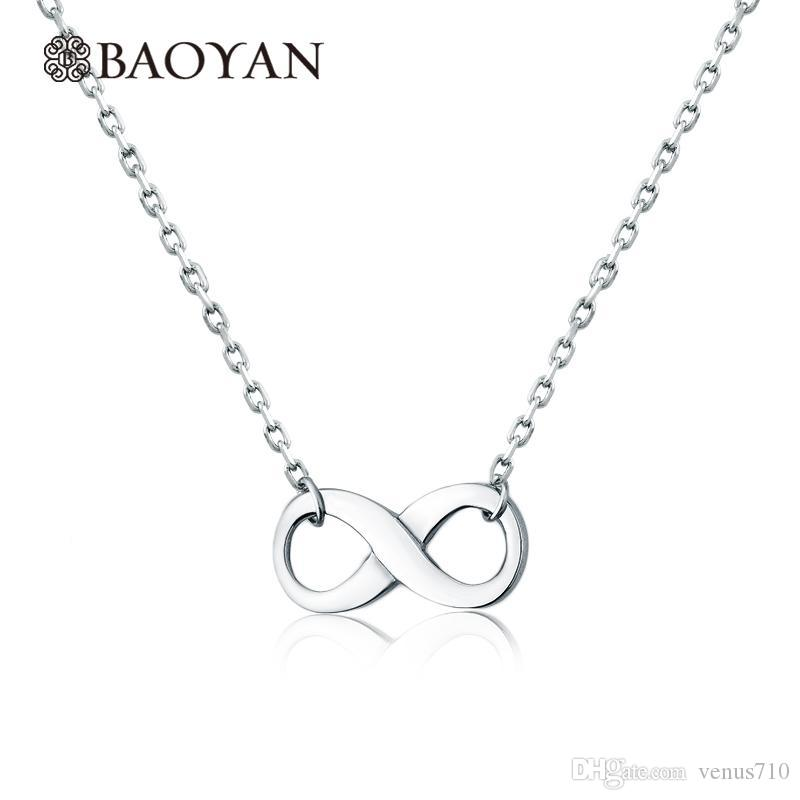 Wholesale Cute Ladies Women Stainless Steel Silver Simple Infinity Charm Pendant Necklace Designs Jewelry Christmas Gift For Girlfriend Best Friend Necklaces Rose Gold Pendant Necklace From Venus710 23 34 Dhgate Com