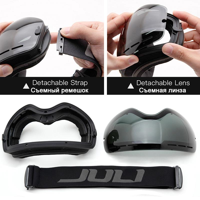Discount Ski Goggles,Winter Snow Sports Snowboard Goggles With Anti Fog UV  Protection For Men Women Youth Snowmobile Skiing Skating Mask From China |