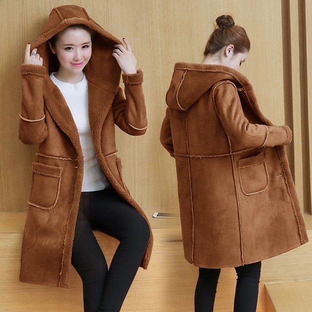 Мода длинные кашемировые шерстяные пальто для женщин 2018 осень зима дешевые корейский пальто шерсть F0114 плюс Размер 3 цвета