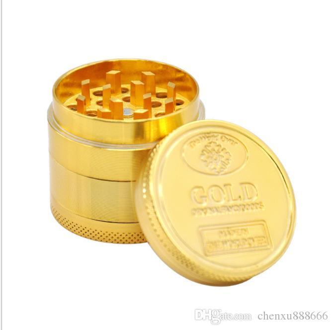 Durchmesser 40mm vier Schicht Zinklegierung Goldmünze Zigarettenanzünder