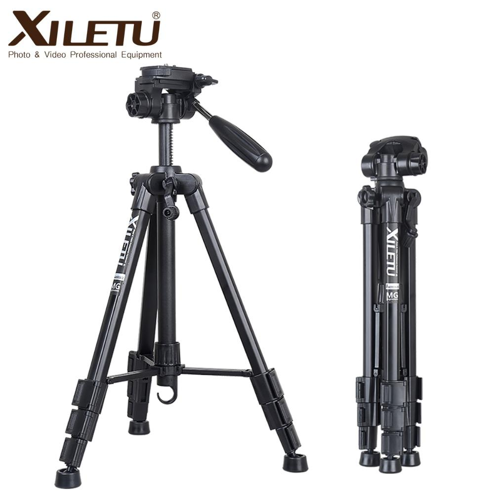wholesale XVT-234 Professional Portable Aluminum Panoramic Camera Video Tripod For Digital Camera Camcorder Canon Nikon Sony