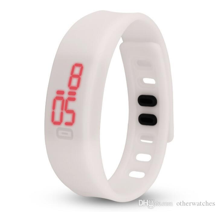 Силиконовые led браслет электронные продажи подарки рекламные Студень Студень электронные часы Наручные часы