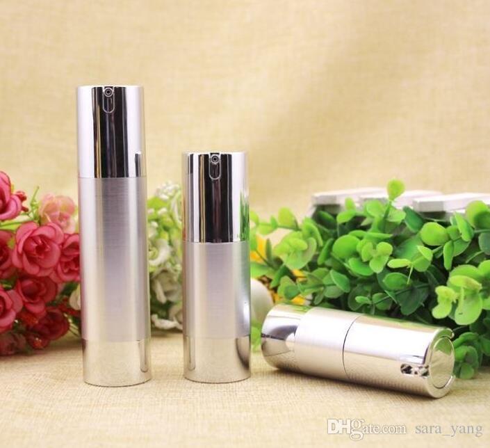 50PCS мычка 30мл безвоздушный насос упаковка для косметики, пластиковая бутылка 30 мл с насосом, пластиковая круглая бутылка 30 мл с дозатором lin3322