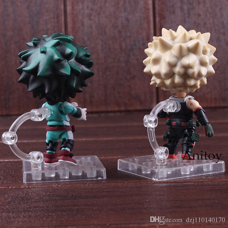 Héroe Academia Bakugou Katsuki y Midoriya Izuku Nendoroid 686//705 PVC Boku
