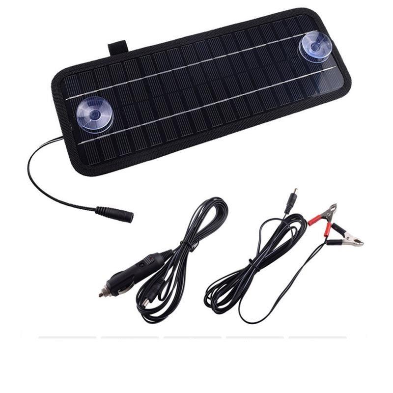 Cargador de panel solar de 4.5W 18V para batería 12V / CAR / BAOT