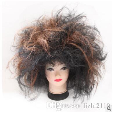 Beggars wig explosion head exaggerated Fancy Costume Prom Festival Performance props cos crazy savage headgear factory direct sale