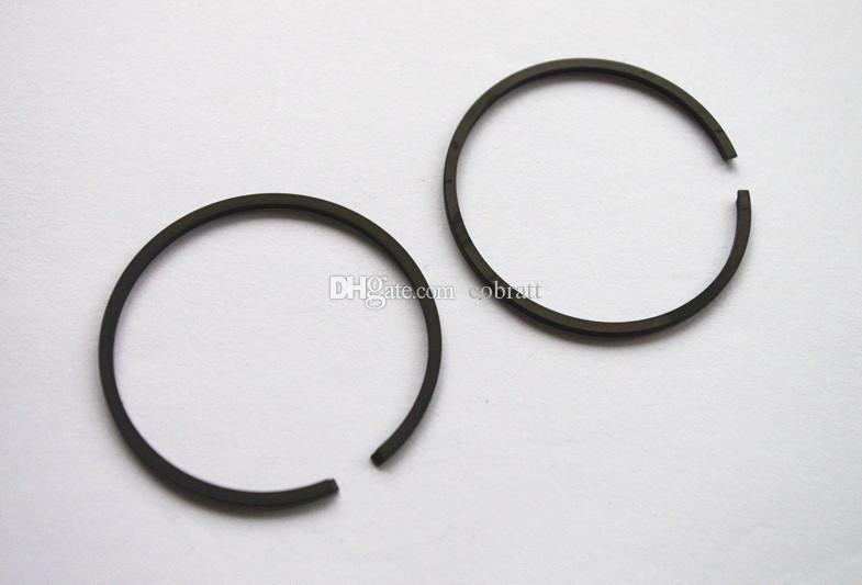 2 X Kolbenringsatz 45mm X1.5mm für Wacker BS30 BS45Y BS52Y BS60Y BS65Y BS50-2 BS60-2 BS600 BS650 BS70-2 BS720 Stampfer BH22 BH23 BH55 Brecher