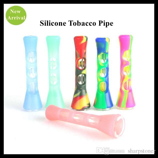 Портативная силиконовая трубочка для курения табака Unbreakable Силиконовая трубка для сигарет