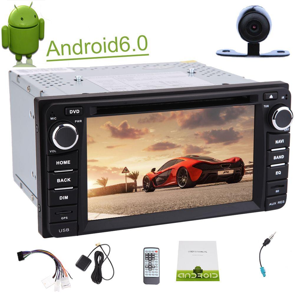 6.2'' Car Stereo in Dash Headunit for Corolla car DVD Player 1080P Video Play Car GPS Navigation Map Capacity Touchscreen Mirror Link
