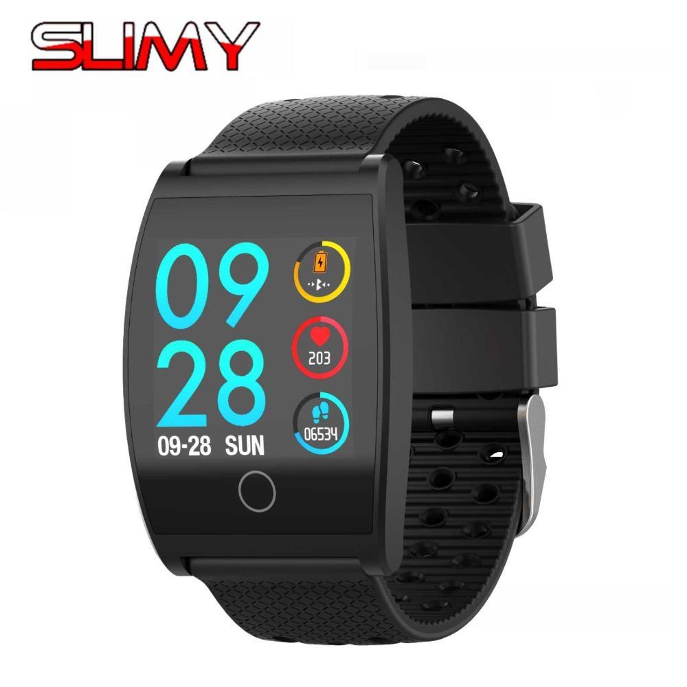 Оптовая смарт-часы Qs05 цветной экран калорий упражнения сердечного ритма шагомер Smartwatch носимых устройств наручные часы артериального давления