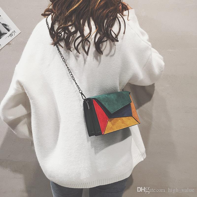 Одиночная распродажа сумка мини-пакеты геометрические пота тесто крест PU рюкзак женские кожаные польские моды кукла кукла крест женская сумка новая LHBC