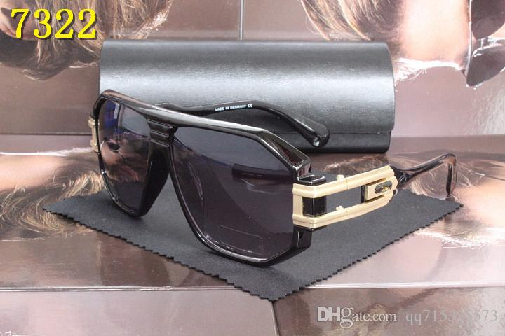 Polarisierte Sonnenbrille Männer Rahmen Aluminium Magnesium Tempel Sommer Stil Luxus Sonnenbrille Mit Box UV400 Mit Original Box