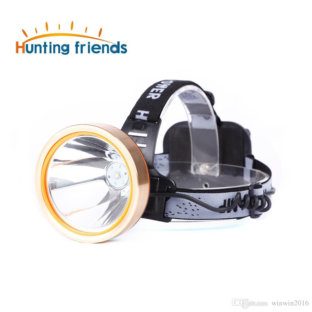 Caça amigos Farol LED Farol Recarregável À Prova D 'Água Cabeça Lanterna Coon Caça Luzes de Pesca Lâmpada de Pesca para Ao Ar Livre