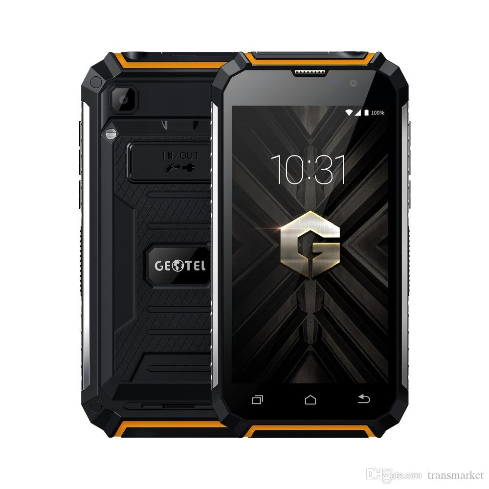"""Geotel G1 3G WCDMA Mobile Phone 7500mAh MT6580A 2GB RAM 16GB ROM Android 7.0 Quad Core 5.0"""" 1280*720 8.0MP GPS power bank phone play store"""