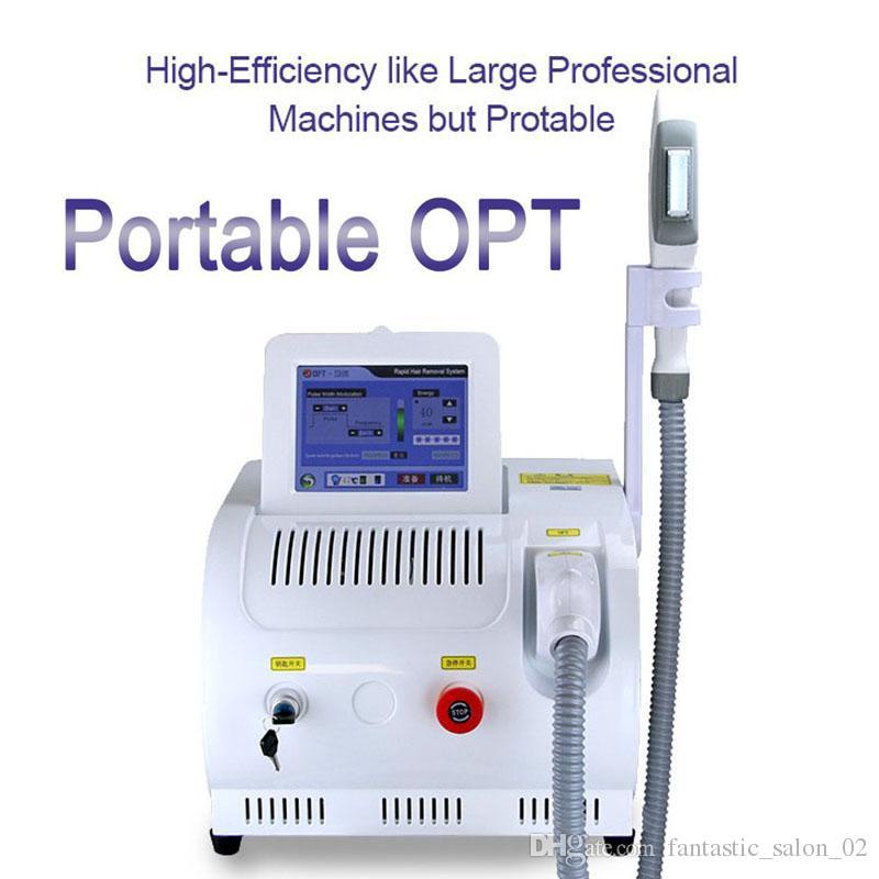 آلة إزالة الشعر بالليزر SHR IPL المحمولة الأكثر شعبية SHR IPL آلة تجديد البشرة E-Light IPL Laser