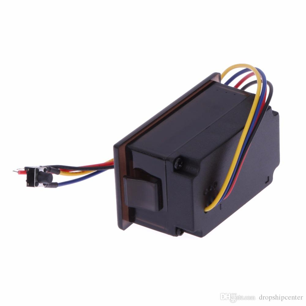 Dc6 ~ 120 فولت الفولتميتر الرقمية الفولتميتر للكهرباء للدراجات النارية الفولتميتر 12 فولت الرصاص الحمضية للماء الجهد متر led الشاشة