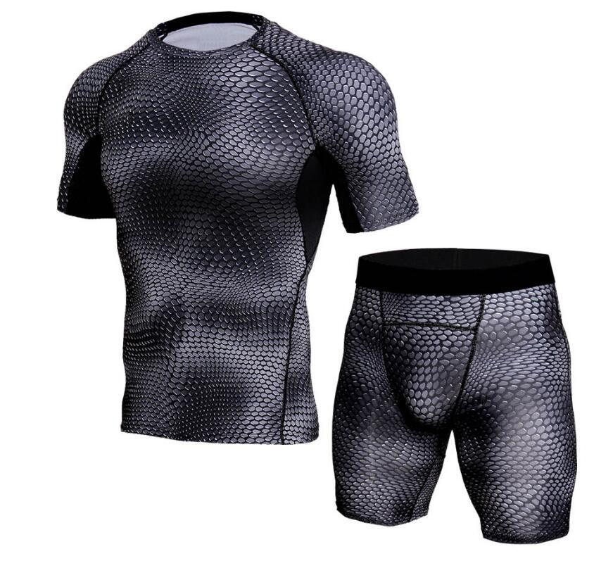 New Fashion Summer Casual Shorts Men Fitness Bodybuilding Sweatpants Compression Tight Mens Jogger Gyms Shorts Short Pants Homme