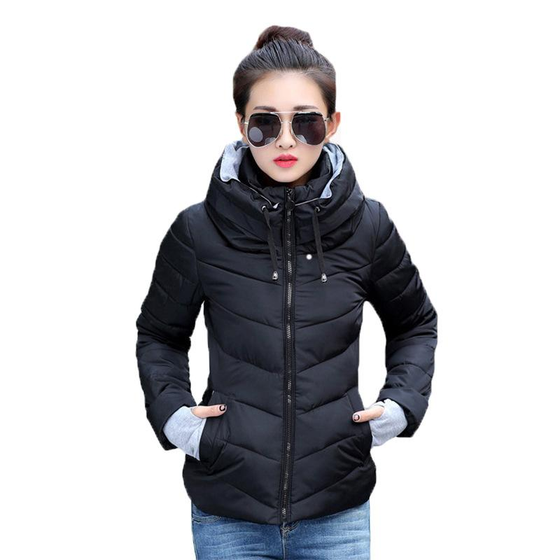 2018 brand fashion luxury designer new style Down cotton jacket women s short collar ladys cotton jacket winter small cotton padded jacket.