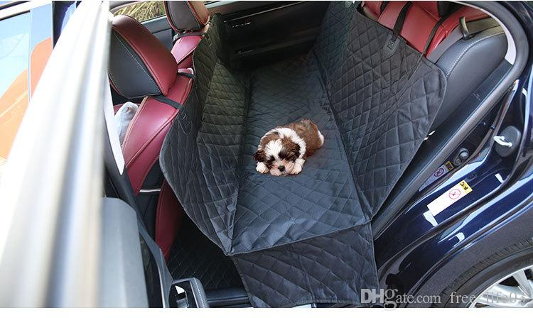 Backseat Dog Hammock >> Folding Carrier Pet Dog Car Rear Bench Back Seat Cover Mat Waterproof Hammock Style And Back Cover For Pet Products Outdoor Travel Pet Supplies And
