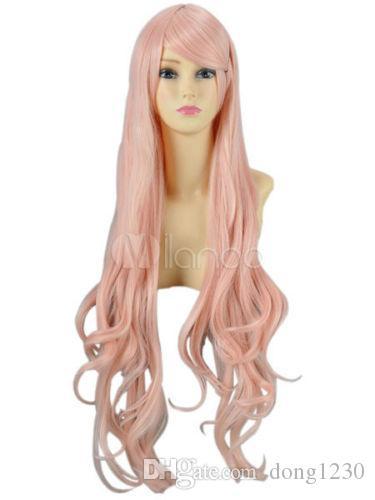 Wpmen sexy longue perruque synthétique naturelle naturelle ondulée, cosplay, cheveux de tous les jours