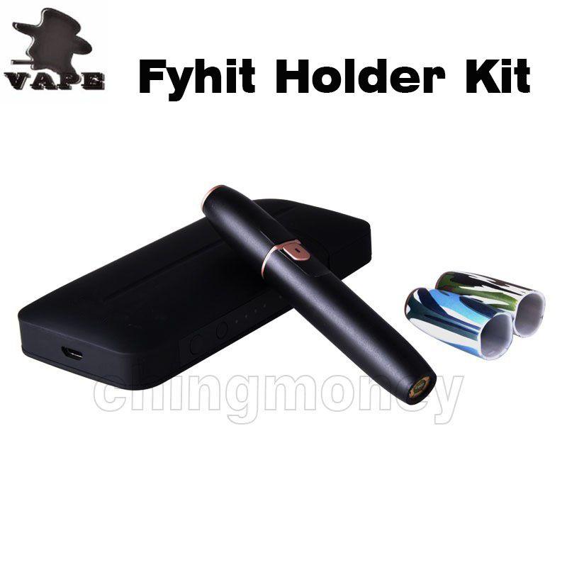 Authentic Fyhit Holder Kit Vape Pen Ceramic Blade Heater With 140mah Battery Vaporizer Portable Pocket Device Micro E cigarette Starter Kit