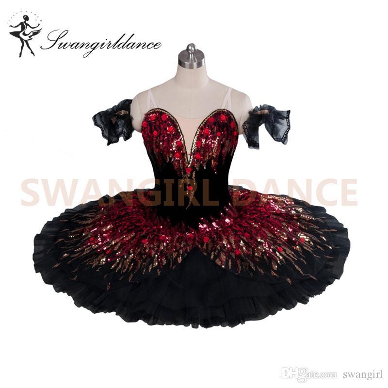 Nutcracker Ballet Costume Tutu Classical CLASSIQUE Christmas Dance RED CM 2XL