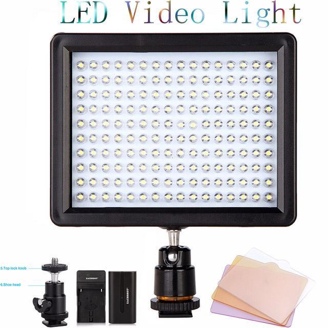 WanSen W160 LED Video Camera Light Lamp For Canon Nikon Pentax sony DV the same with CN-160 better than AriLight Mini LED light