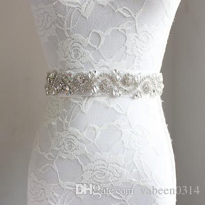 Europa und die Vereinigten Staaten handgefertigter Luxus Diamantgürtel / elegantes Brautkleid Diamantschmuck / mehr Stil in die Shopauswahl