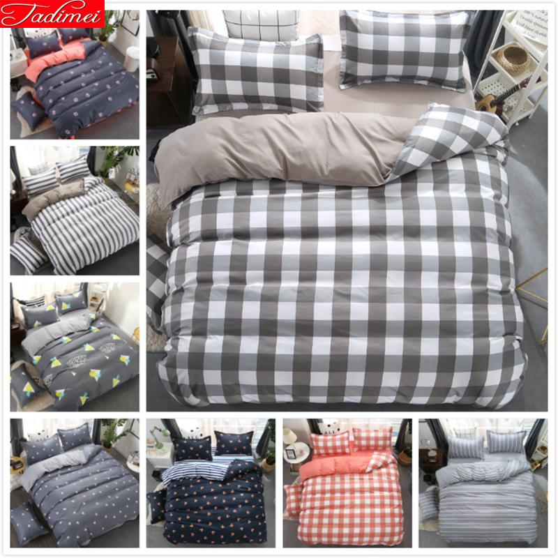 Bedding Set Single Twin Queen King Size Duvet CoverletPillow Case Quilt Comfort