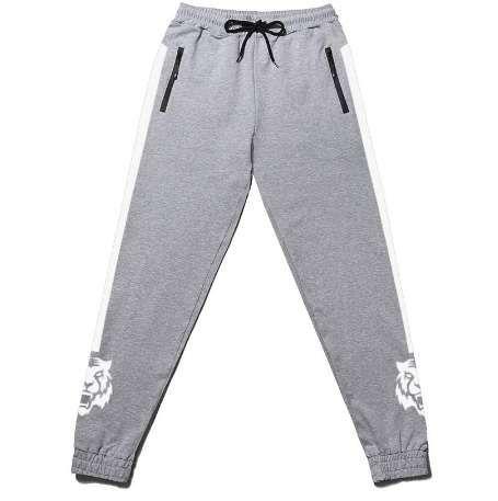 Artı boyutu büyük Bahar Erkekler Baskı Sıkı Pantolon Jogger Sweatpants Harem Rahat Pantolon Gevşek Fit Unisex