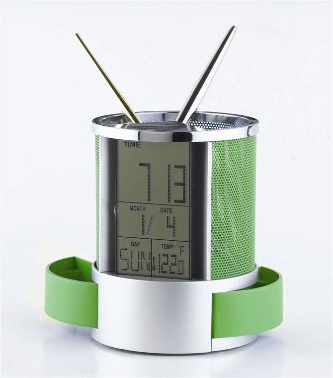 Porte-stylo créatif Porte-stylo électronique multifonctionnel titulaire de stylo de calendrier ventes directes d'usine