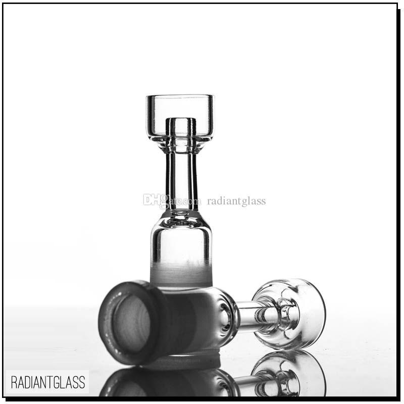 Su Borusu ST-656 14.5mm 18.8mm Kadın Domeless Toptan Quartz Çiviler Yağ Rig Cam Çivi