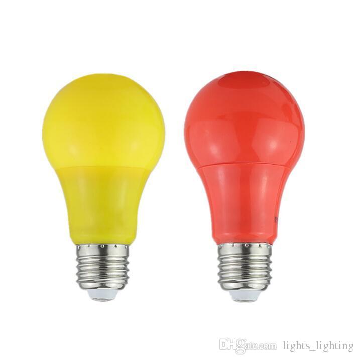 Низковольтный цвет вел шарик полиэтиленового пакета алюминиевый красный свет желтый свет вел шарик