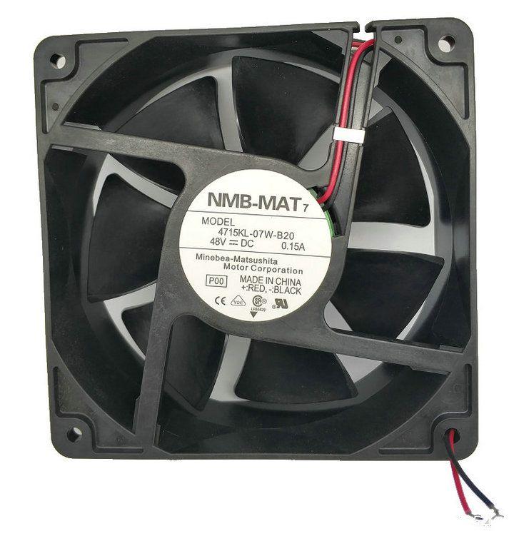 NMB 12038 48V 0.21a 4715KL-07T-B30 4715KL-07W-B30 4715KL-07W-B20 CPU 쿨러 방열판 냉각 팬 도매 및 소매