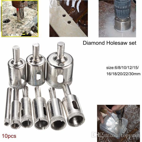 16 Mm Diamant Trou Scie Perceuse Carottier Cutter Outil pour marbre Outil Rotatif