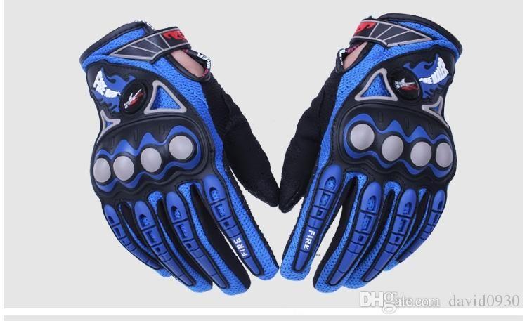 PRO-BIKER Motorcycle Gloves Moto Racing Motorbike Motocross Motor Riding Cycling Bicycle Glvoes Black Red Blue Orange MCS-23