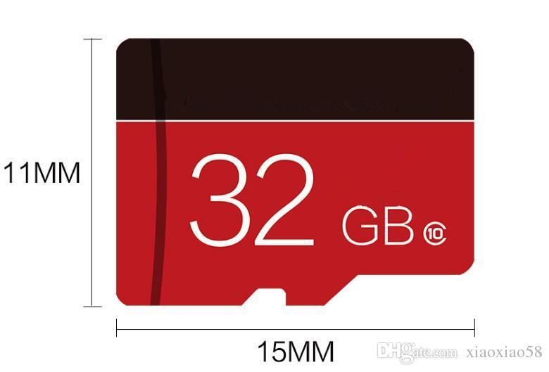100 % 원래 다양한 색상 마이크로 SD 카드 32gb Class10 TF 카드 32g 18Mb / s 메모리 카드 32GB samrtphone 및 테이블 PC에 대 한
