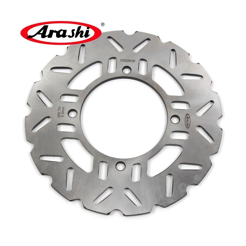 ARASHI para o disco do rotor do disco do freio traseiro de Kawasaki Z750 Z800 ABS Z800E Versys 1000 ZZR1400 2007 2008 2009 2010 2011 2012 2013 2014 2015