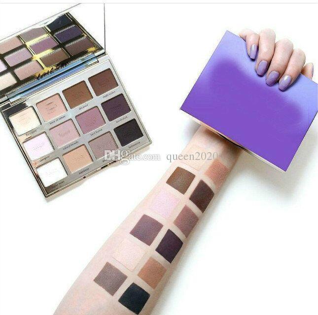 Ausgewähltes Einzelteil 12 färbt Augen-Schatten-Paletten-Tartelett in der Blüten-Palette 1. Gutes Pigmentations-Mattschimmer DHL geben Verschiffen frei