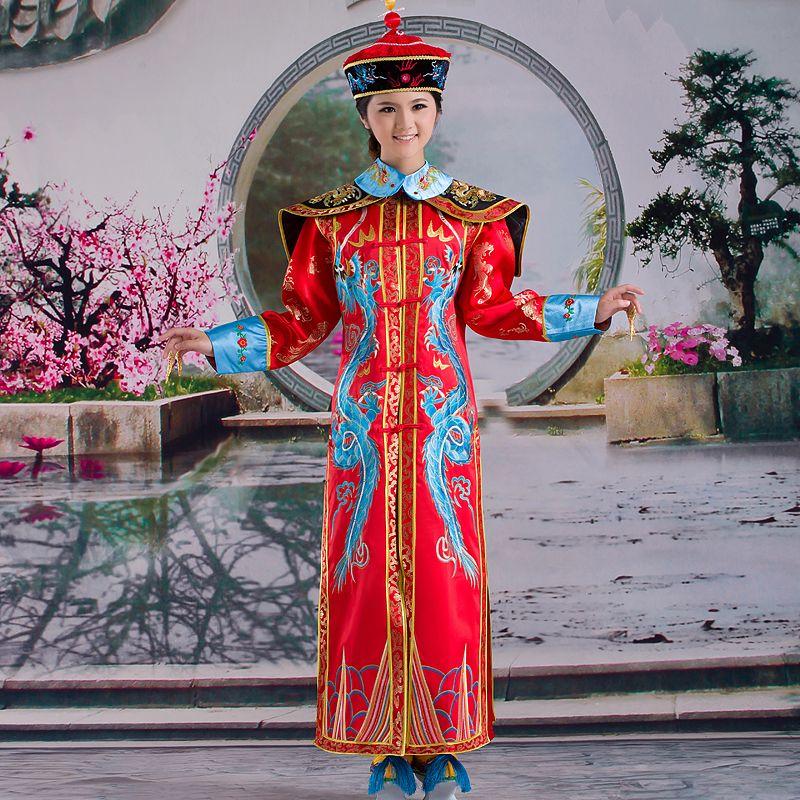 Damen Cosplay Traditionelle Robe Chinesisches Altes Kostüm Kleid Dramaturgisch