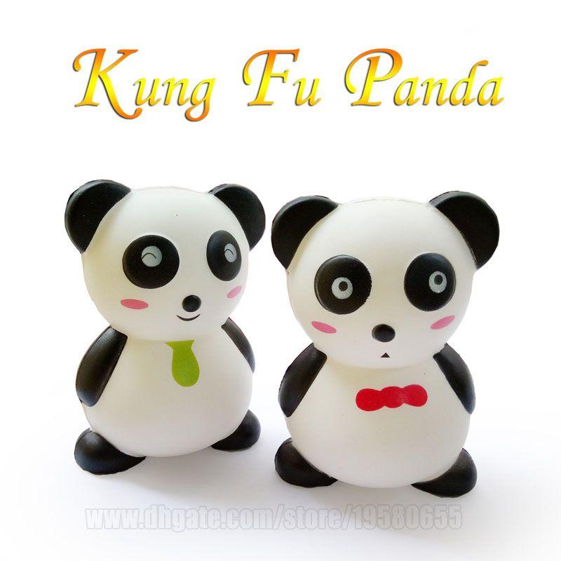 Kung Fu Panda Squishy Toys Kawaii Squishies