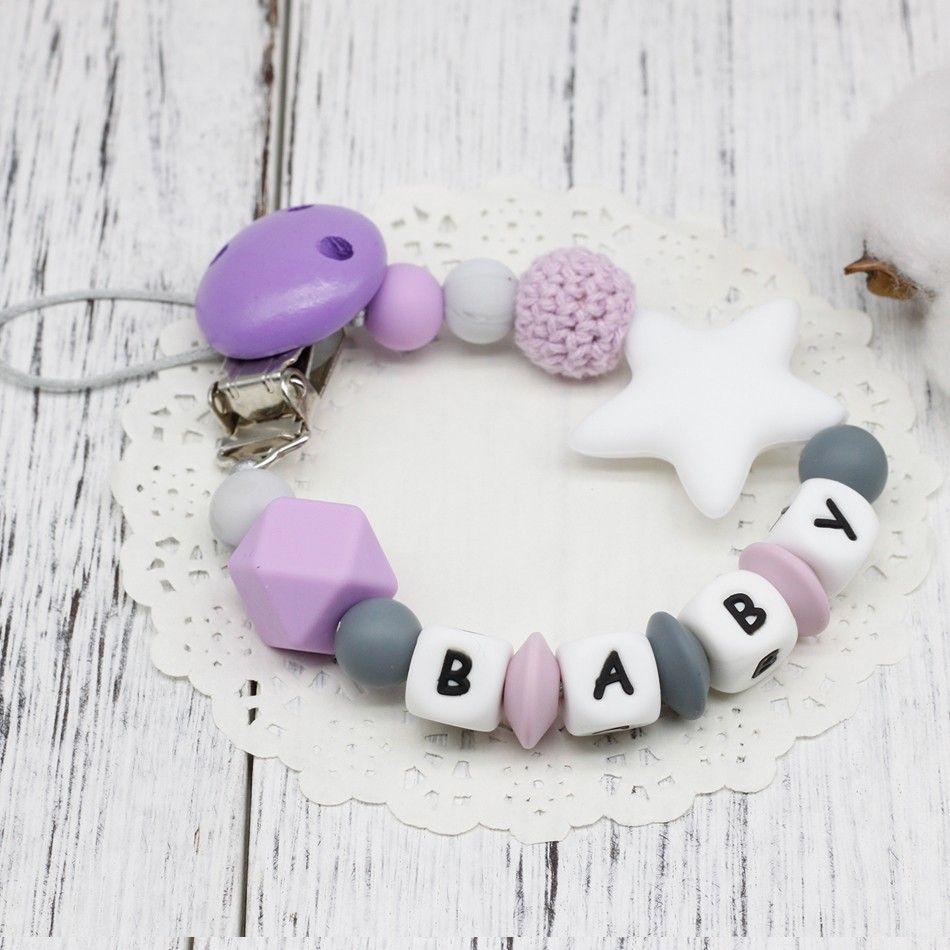 Compre Nueva Diy Silicona Bebé Chupete Clip Nombre Personalizado Colorido Chupete Cadena Para La Dentición Del Bebé Chupete Chew Toy Dummy Clips Envío Gratis A 4 18 Del Zhou1129 Dhgate Com