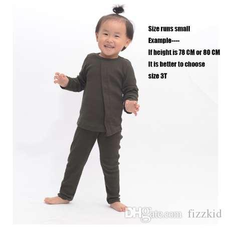 HITOMAGIC Neue Mode Heißer Verkauf Baby Mädchen pyjamas Set Kid gerippt ausgestattet pyjamas hause für kinder junge kleidung langarm