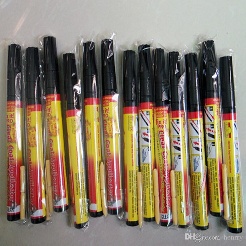 Tragbare Auto Scratch Repair Pen Fix Es Pro Klarlack Auto Scratch Reparatur Füllstoff Remover Lackstift TV Auto Touch Up Stift 100 STÜCKE