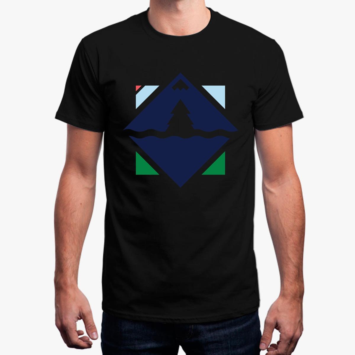Engraçado Casual Adventure Compass T-Shirt Para Homens Legal O Pescoço Camiseta Básica Sólida Tamanho Euro S-3xl T Shirt Para Homens 2018 Homme