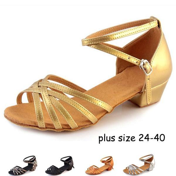 Compre Clásico Satén De Tacón Bajo, Suela Blanda, Salón De Baile Latino, Zapatillas De Deporte, Zapatos De Baile Para Mujer, Zapatos De Salsa De