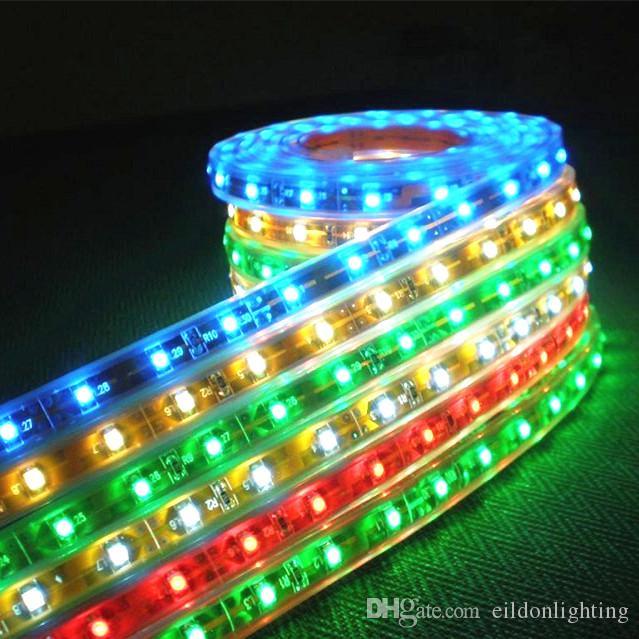 LED flexible bandes lumières RVB 36W 220V 110V 3528SMD 5050SMD 5730SMD 180LEDs cuivre FPCB extérieur lampe étanche IP67 Chine Wholesales